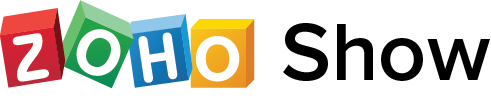 zoho show logo