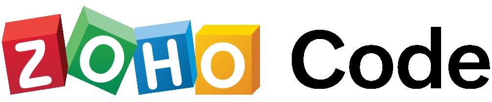 zoho code retina logo