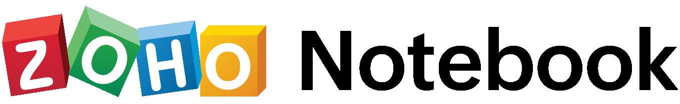zoho notebook retina logo