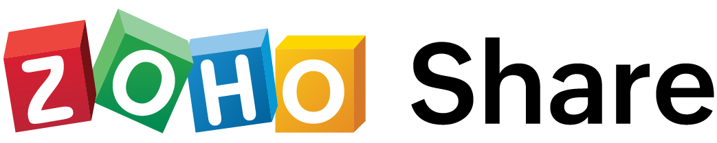 zoho share retina logo
