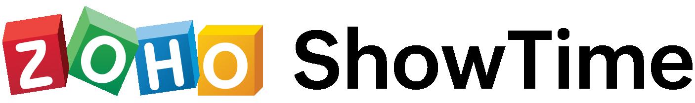 zoho showtime retina logo