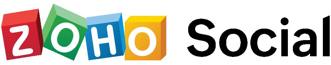 zoho social retina logo