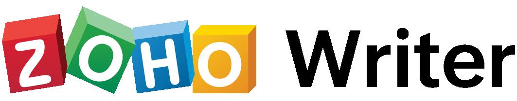 zoho writer retina logo