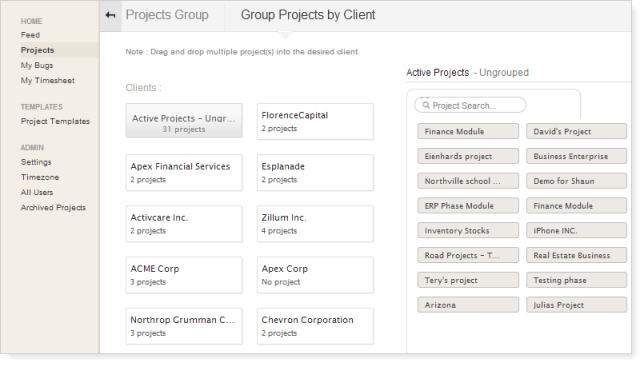 Projects-clientgroup