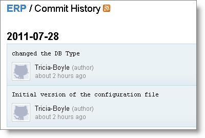 GitHub Commits