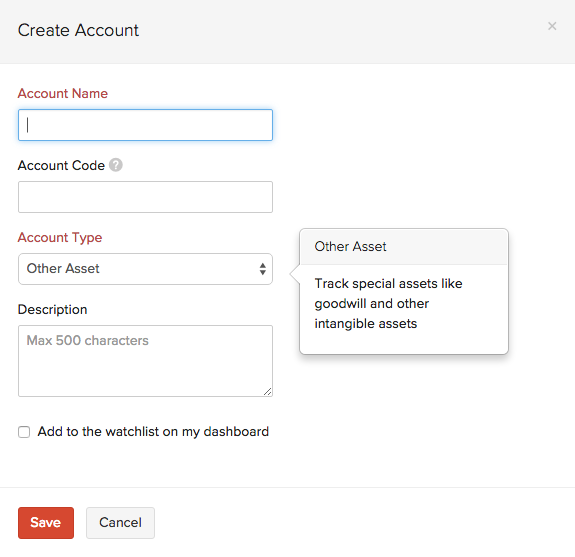 Creating a New Account