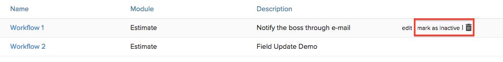 Mark Delete Workflow