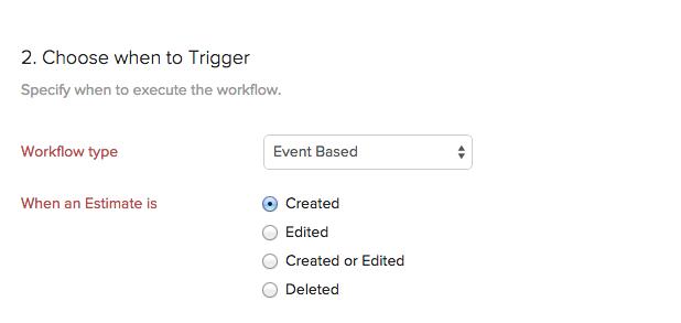 when trigger workflow