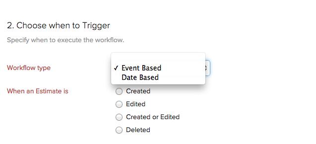 workflow type