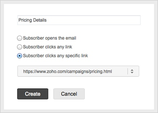 Autoresponders based on opens and clicks