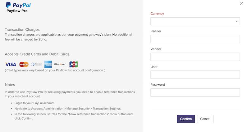 Payflow Pro details