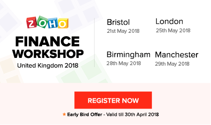 Zoho Finance Workshop - UK