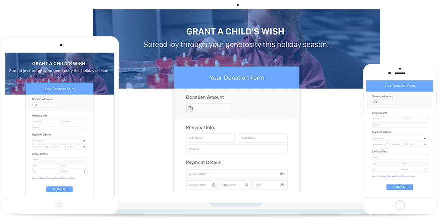 Responsive Payment Pages