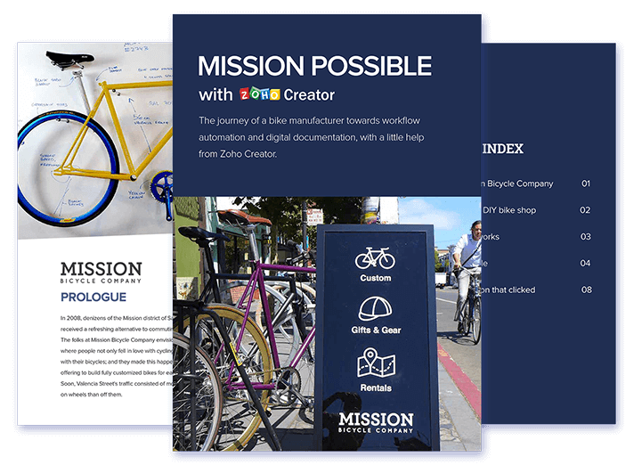 Learn how a bicycle manufacturer went paperless with custom