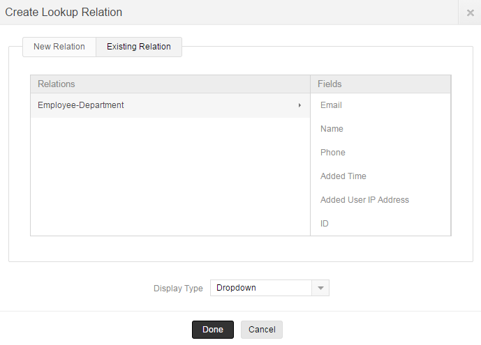 bidirectional relationship zoho creator pricing