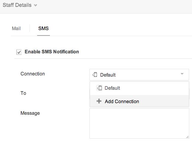Default SMS