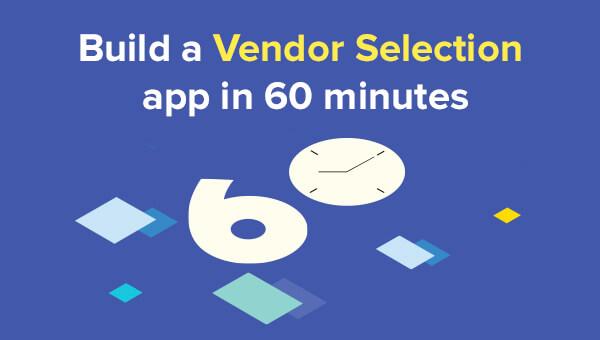 Vendor Selection Application