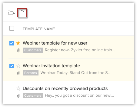 email templates online help zoho crm
