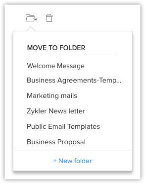 Email templates online help zoho crm delete and move templates flashek Image collections