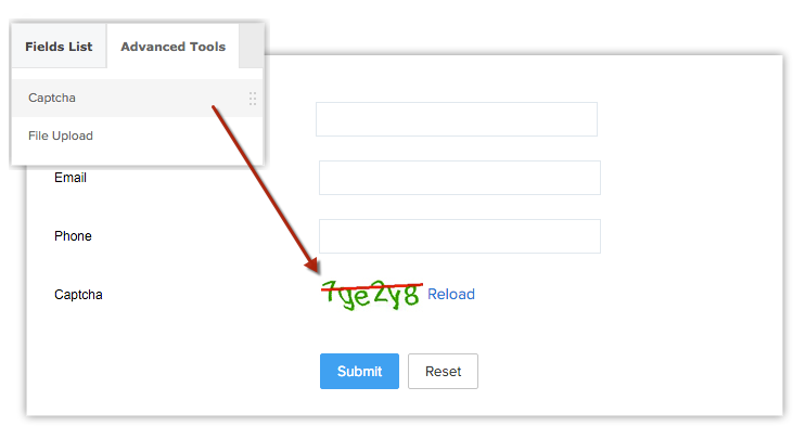 Setting up Web Forms   Online Help - Zoho CRM