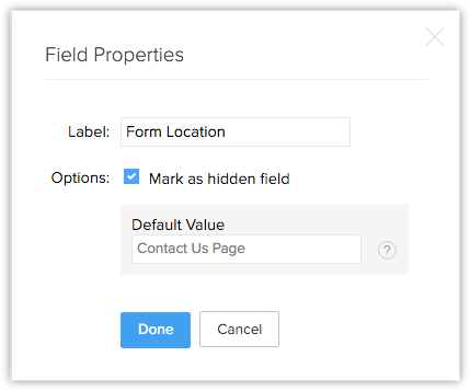 Web Forms for Google Sites | Online Help - Zoho CRM