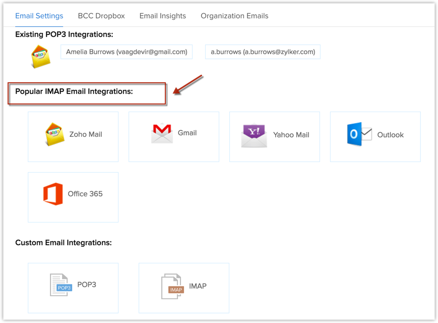 office 365 email settings
