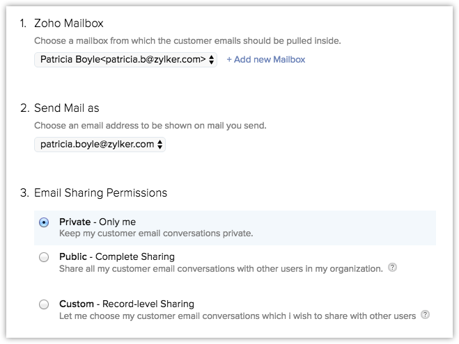 Integrating Gmail With Zoho Crm Online Help Zoho Crm