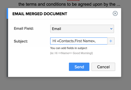 Managing Mail Merge Templates Online Help Zoho Recruit