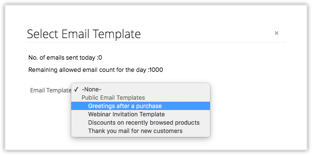 email template transition guide online help zoho crm
