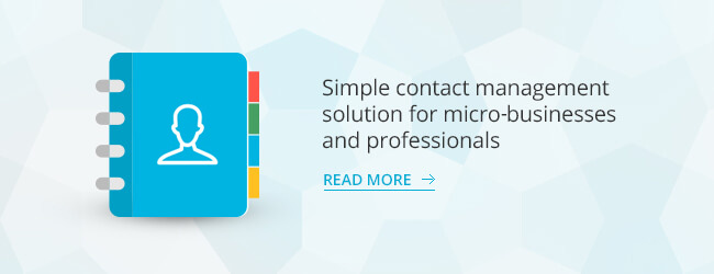 Why a Contact Manager