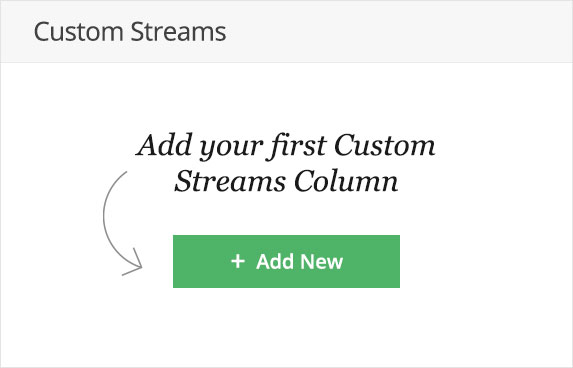 Create your own listening streams