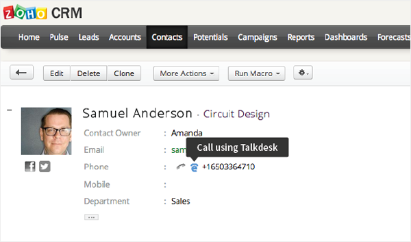 Integration with Google AdWords
