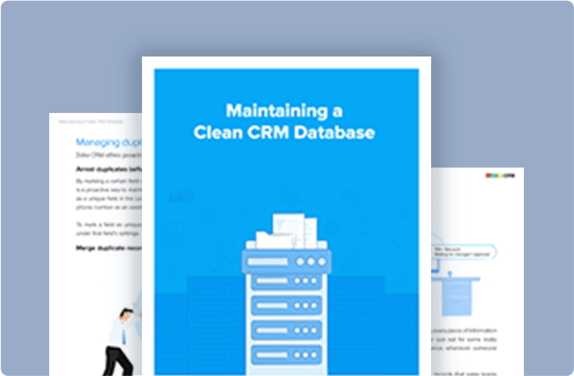 Maintaining a Clean CRM Database
