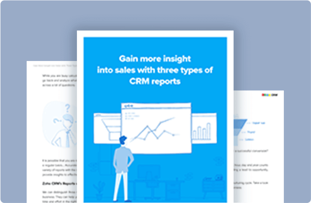 Gain Insight into Sales with 3 Types of Reports