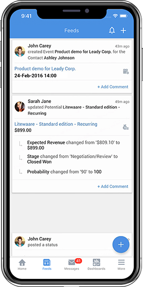 simple mobile crm for improved business relationships