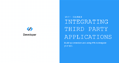 Integrating Third Party Apps