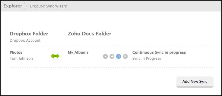 Dropbox folders