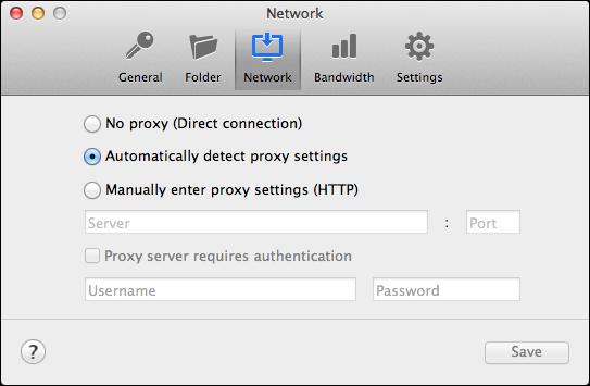 Configure Proxy