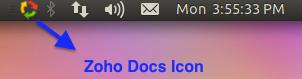 Zoho Docs Tray Icon