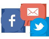 Caixas de e-mail
