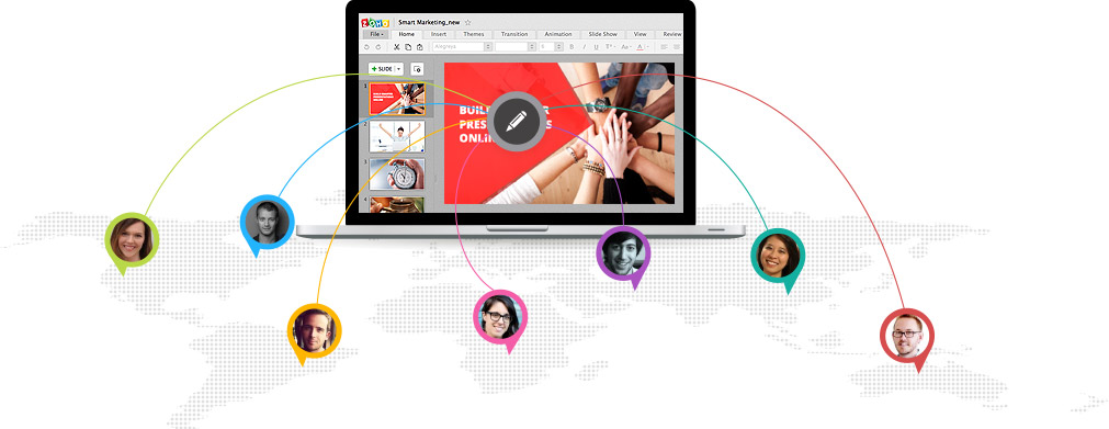 Work Online Screen