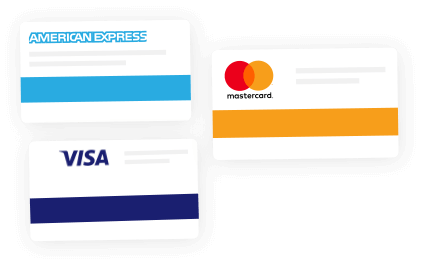 Supported card types