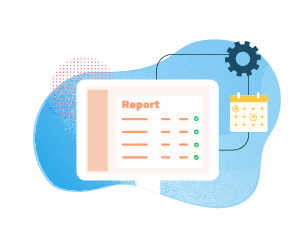Expenses can be converted to reports without a click