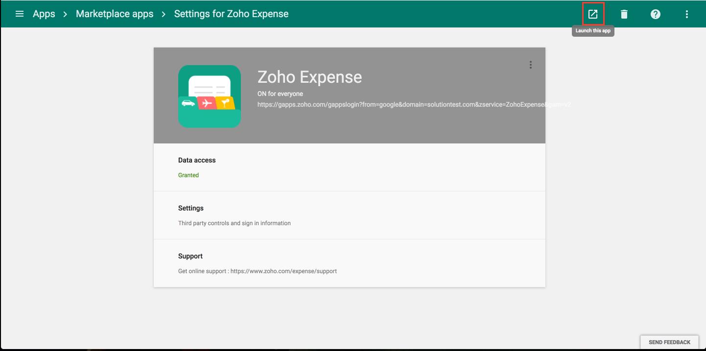 Launch ZE G Suite