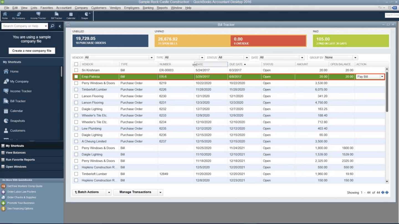 Export to quickbooks desktop for reimbursable expenses