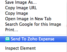 Zoho Expense Login