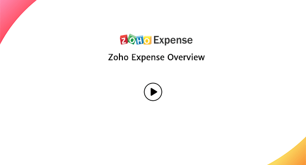 Zoho Expense Overview