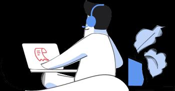 Illustration of Zoho Expense resources