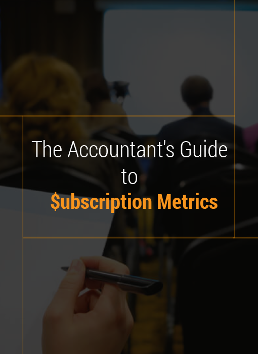 The accountant guide to subscription metrics