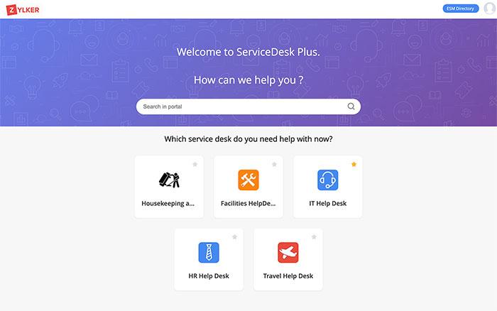 Online Enterprise Service Desk
